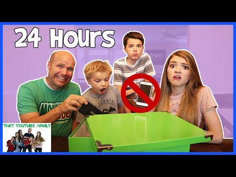 24 Hours No Electronics No Technology  That YouTub3 Family
