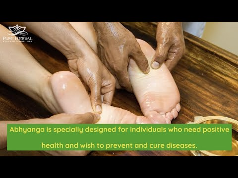 Abhyanga Ayurvedic Massage In Melbourne | Herbal Lymphatic Ayurveda Oil Massage | Pure Herbal Clinic