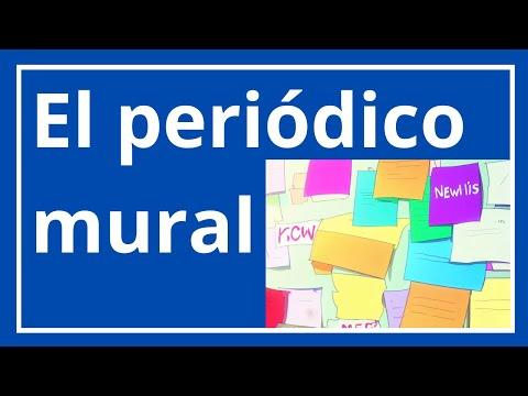 El peri dico mural for Definicion periodico mural