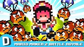 We Make a Battle Royale in Mario Maker 2