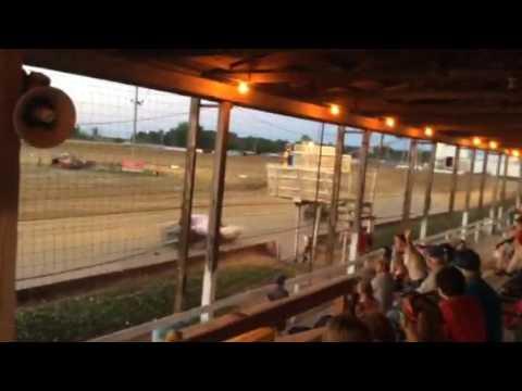 Sean Boyce Charleston speedway heat 2 07/08/17