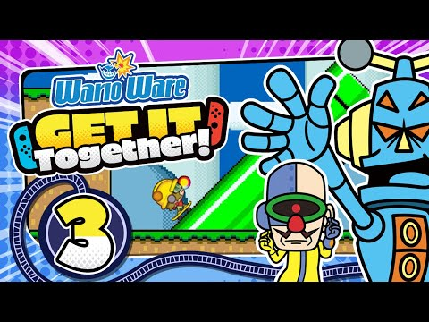 Coole NINTENDO MINIGAMES! 👃 WARIOWARE: GET IT TOGETHER! 👃 #3