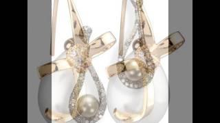 Moda 2017 Fashion 2018 zarcillos perlas