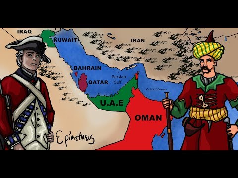 History of the Persian Gulf explained,  Bahrain, Kuwait, Qat