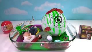 Squishy Mashem Splat Ball and Toys