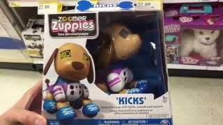 """Zoomer Zuppies """"kicks"""" Electronic Interactive Light Up Puppy Dog Toy / Toy Review"""