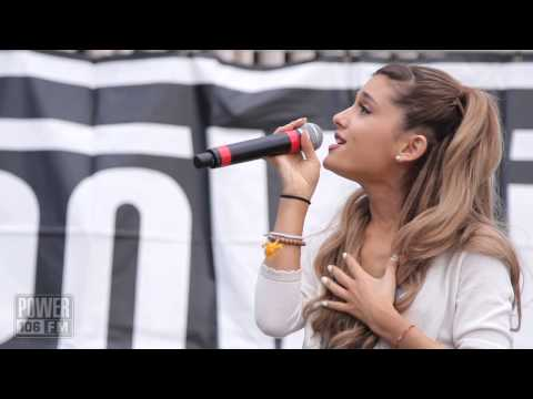 Ariana Grande - 'The Way' - Live Acoustic Performance