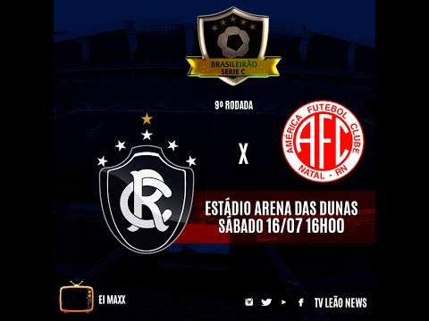 Série C - América RN 1 x 1 Clube do Remo - Jogo Completo