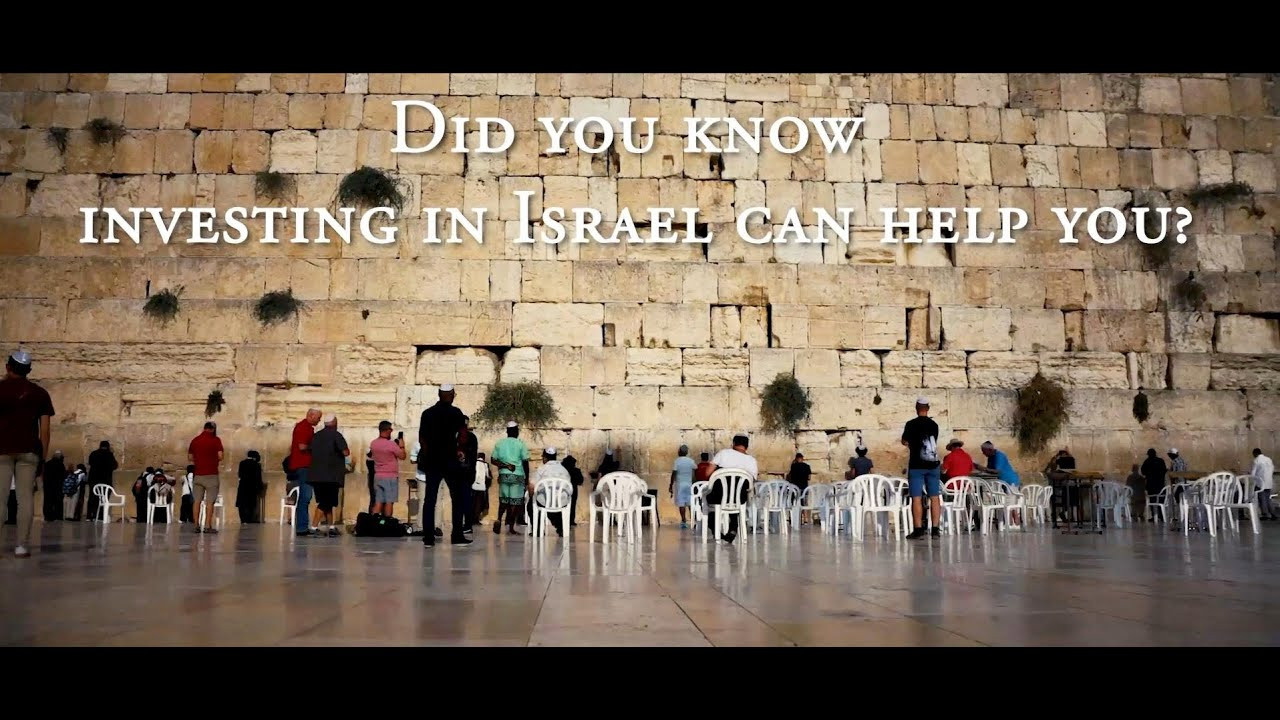 Special LIVE webinar - Learn how investing in Israel can help YOU!
