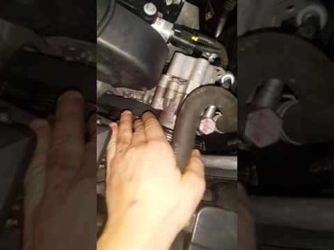 Замена ремня гур на шевроле круз с двигателем Z18xer