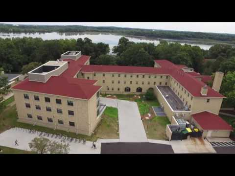 Edgewood College from the Air