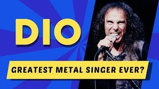 Was Ronnie James Dio the GREATEST Metal Singer Ever? [Vocal Coach Analysis]