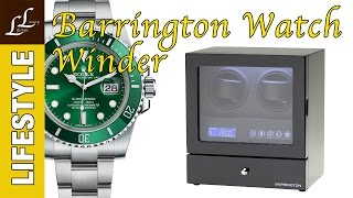 barrington dual watch winder review