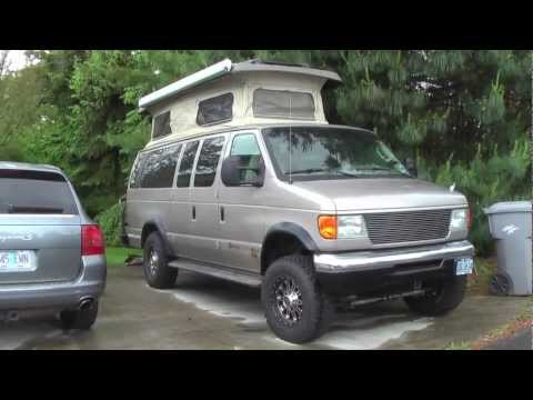 DIY Sportsmobile Camper Van Conversion W Quadvan 4 Wheel Drive