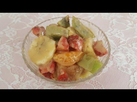 Lezzetli Meyve Salatası / Grip Çayım (Gamze Hoca İçerir) / Vegan