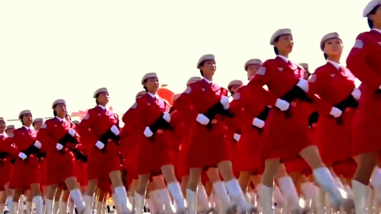 салат без парад китайских девушек катюша фидерных