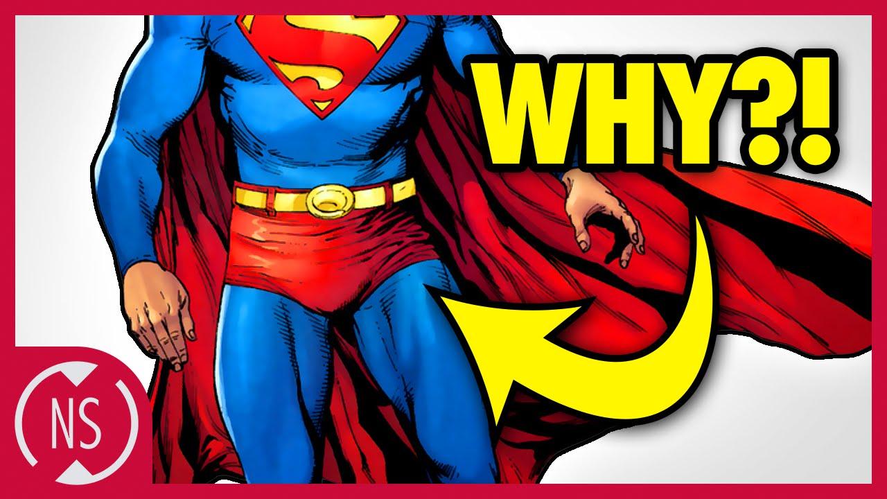 why do superheroes wear underwear on the outside comic