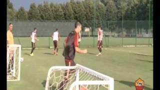 Primer Entrenamiento de Leandro Paredes en la AS Roma !!
