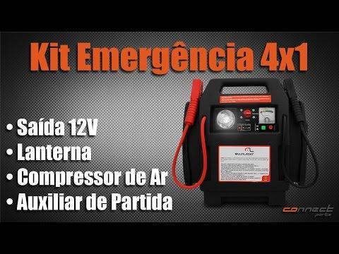 Kit Emergência Auxiliar de Partida - Connect Parts