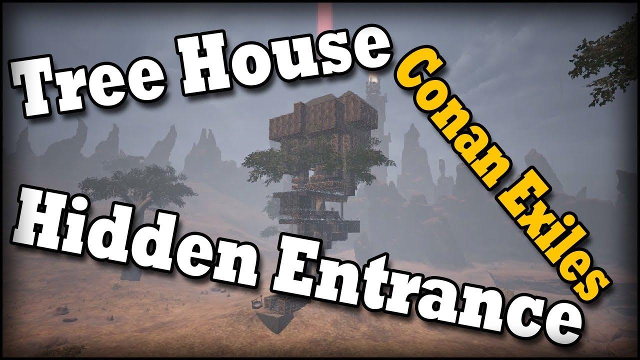 conan exiles how to make hidden ares