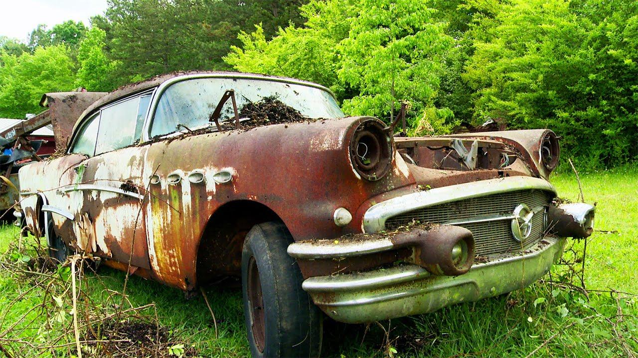 Junkyard 1956 Buick Hack! - Roadkill Ep. 53 - YouTube