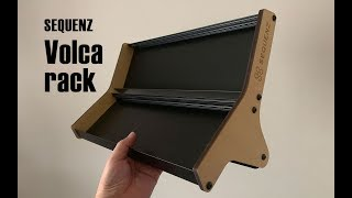 volca rackを組み立てた。