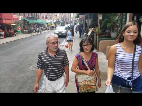 China Town and Little Italy New York City 2017