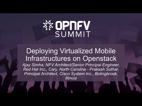 Deploying Virtualized Mobile Infrastructures on Openstack