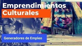 #HablemosDeEsto - Emprendimientos culturales y generación de empleo