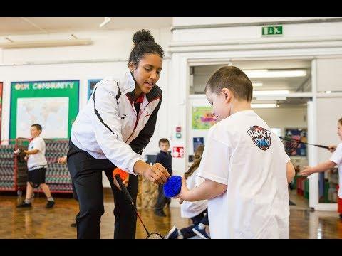 Community: England no.1 delivers badminton masterclass as Racket Pack tour visits Bristol