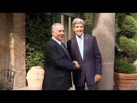 Kerry and Netanyahu discuss Iran in Rome