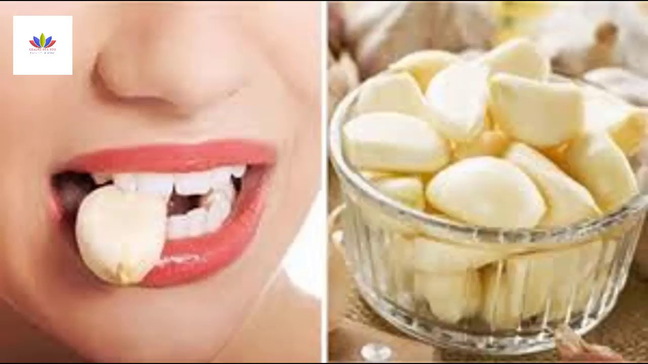 the health benefits of placing a clove of garlic under your