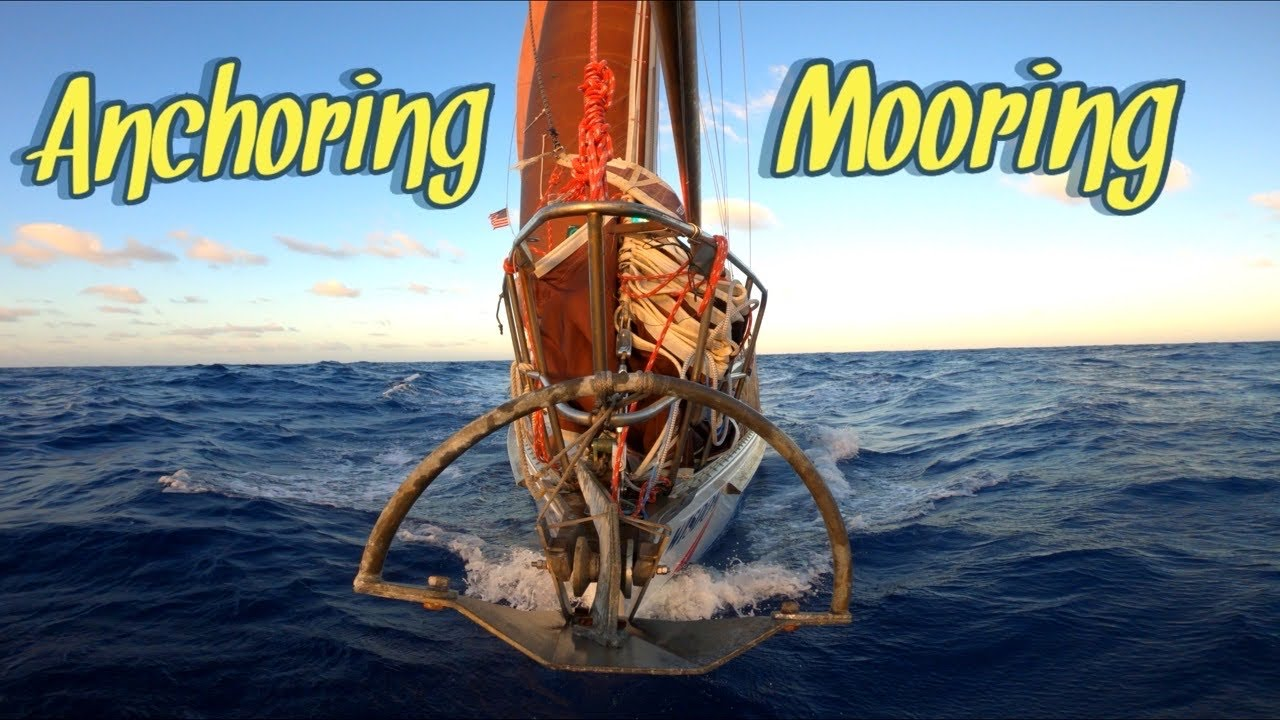 [How to] ANCHOR for HEAVY WEATHER   Sailing Wisdom