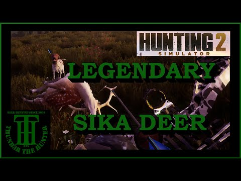 The Quest for a Legendary Sika Trophy ;Hunting Simulator 2 [PC] |