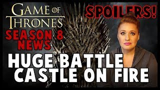 Game of Thrones News: Winterfell Falls?, TORMUND!!, HUGE fire video, back to Iceland, and HE LIVES!!