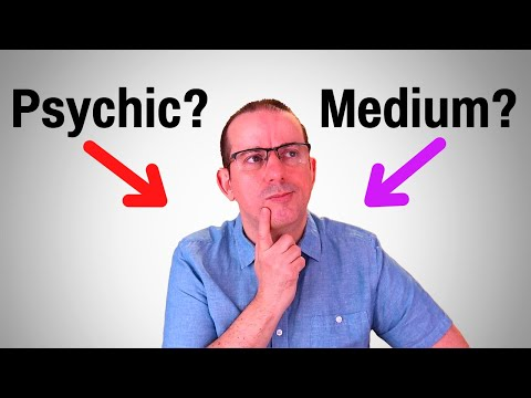 What Is The Difference Between A Psychic And A Medium? With Martin Twycross