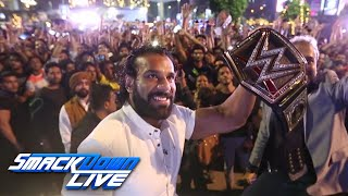 Get an inside look at Jinder Mahal's trip to India: SmackDown LIVE, Oct. 17, 2017