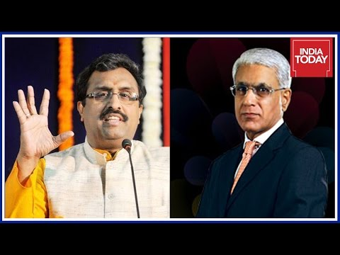 To The Point : BJP Gen Sec, Ram Madhav Exclusive Interview By Karan Thapar
