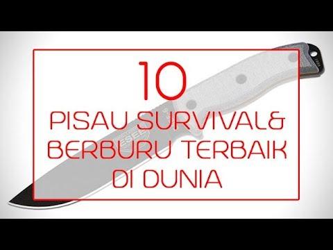SANGAR...!!! 10 PISAU SURVIVAL DAN BERBURU TERBAIK DI DUNIA
