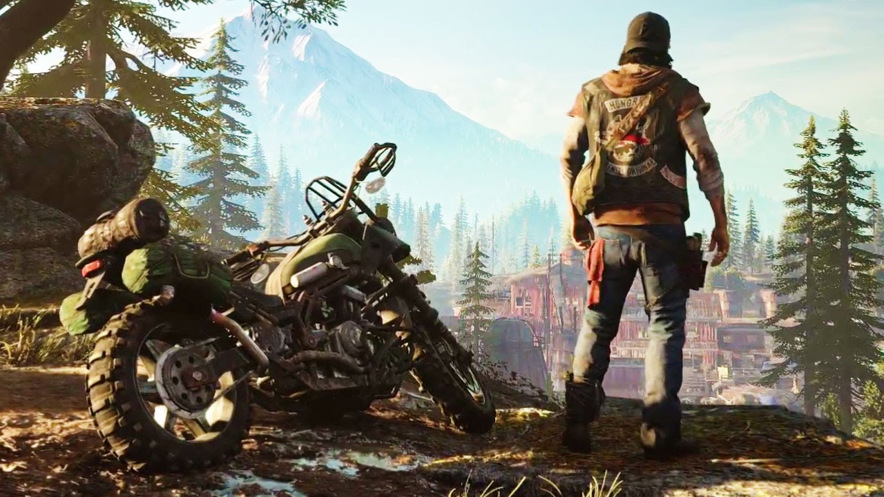 First Look Days Gone Gameplay Trailer New Ps4 Open World