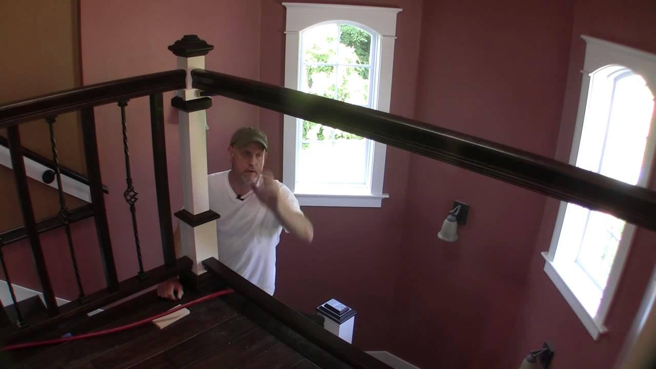 Removable Balcony Hand Rail Pt 1