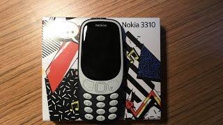 Nokia 3310 Распаковка и первое впечатление