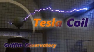 Tesla Coil Griffith Observatory Los Angeles California HQ HD
