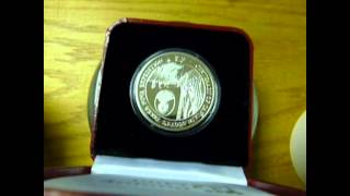 British Antarctic Territory 2012 Terra Nova Expedition Coin