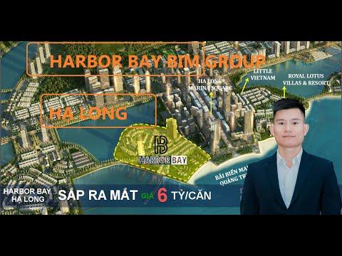 "harbor bay bim group view vịnh hạ long ""real estate viet nam"""