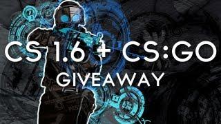 Giveaway: CS:GO & CS 1.6 (Steam Gift)