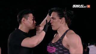 XIAOMI ROAD FC 047 PART2 GABI GARCIA(가비 가르시아) VS VERONIKA FUTINA(베로니카 푸티나)