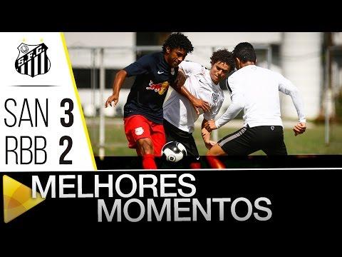 Santos 3 x 2 Red Bull Brasil | MELHORES MOMENTOS | Jogo Treino (17/01/16)