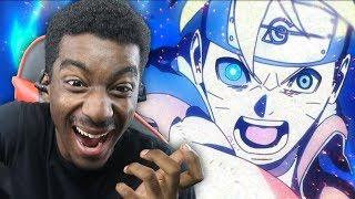 NARUTO SASUKE & BORUTO VS MOMOSHIKI LIVE REACTION! Boruto Next Generations Episode 65