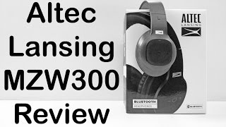 Altec Lansing MZW300 Review | Over Ear Bluetooth Headphones | Nothing Wired